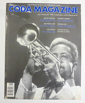 Coda Magazine July/august, 1992 Lester Bowie