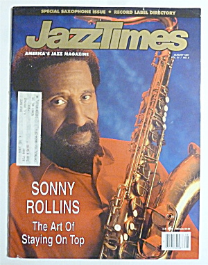 Jazz Times Magazine September 1991 Dianne Reeves