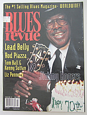 Blues Revue Magazine Fall 1994 Jimmy Rogers