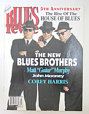 Blues Revue Magazine June/july 1996 New Blues Brothers