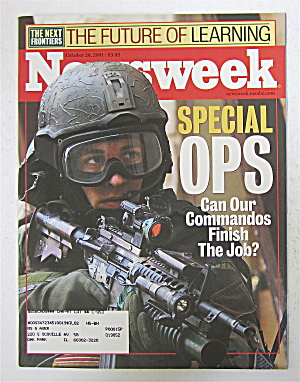Newsweek Magazine October 29, 2001 Special Ops