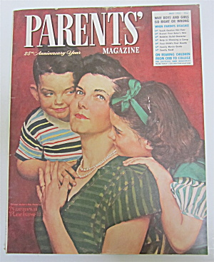 Parents' Magazine May 1951 Norman Rockwell Cover