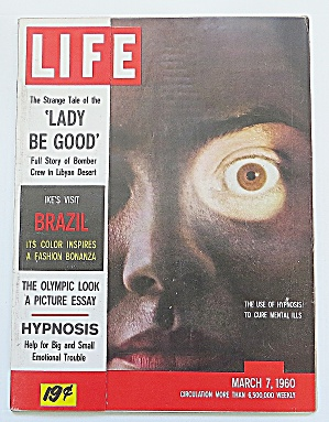 Life Magazine March 7, 1960 Hypnosis