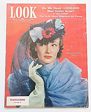Look Magazine April 20, 1943 Hollywood Easter