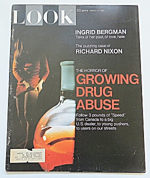 Look Magazine March 5, 1968 Drug Abuse