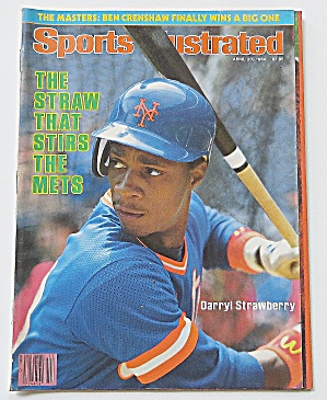 Sports Illustrated April 23, 1984 Darryl Strawberry