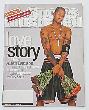 Sports Illustrated April 23, 2001 Allen Iverson