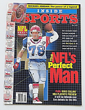 Inside Sports May 1995 Nfl's Perfect Man