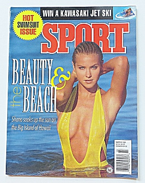 Sport Magazine March 1995 Beauty & The Beach