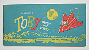 Adventures Of Toby Brite Comic 1963 Brite & Bobby
