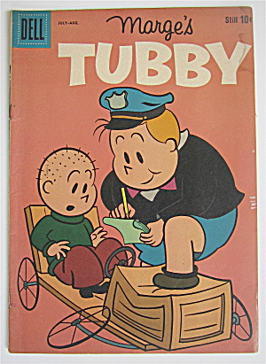 Marge's Tubby Comic July-august 1960 Toothday