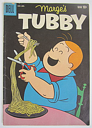 Marge's Tubby Comic November-december 1960 # 43