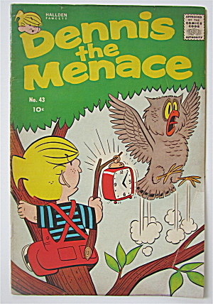 Dennis The Menace Comic June 1960 #43