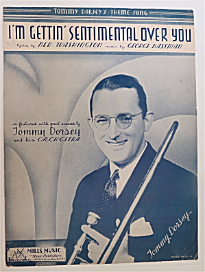 Sheet Music For 1934 I'm Gettin' Sentimental Over You
