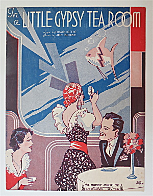 Sheet Music For 1935 In A Little Gypsy Tea Room