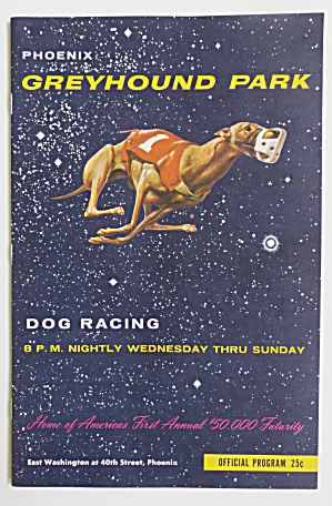1964 Official Greyhound Racing Program With Tickets