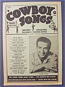 Cowboy Songs -fall 1961- Faron Young