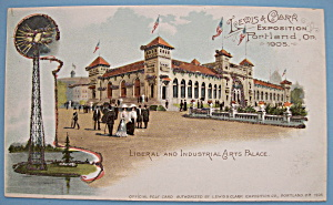 Liberal & Industrial Arts Postcard (Lewis & Clark Expo)