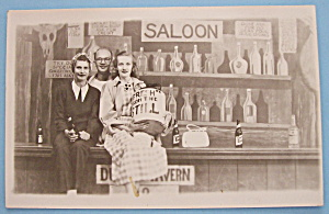 Riverview Park Saloon Picture Postcard-(Chicago)