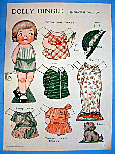 Dolly Dingle Paper Doll - April 1933