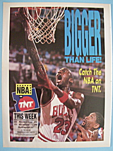 1991 Nba On Tnt With Basketball's Great Michael Jordan