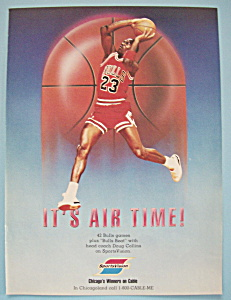 1988 Sportsvision With Basketball's Michael Jordan