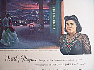 Vintage Ad: 1945 Rca Victor Records W/ Dorothy Maynor