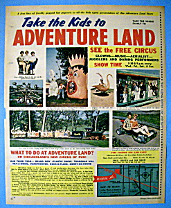 Vintage Ad: 1963 Adventure Land Amusement Park