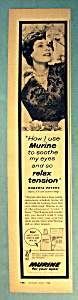 Vintage Ad: 1960 Murine With Roberta Peters