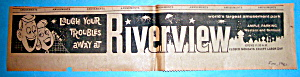 1961 Riverview Amusement Park With Laugh Away Troubles