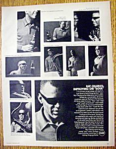 Vintage Ad: 1967 Coca Cola With Ray Charles
