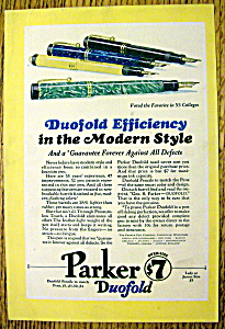 1928 Parker Duofold Pens