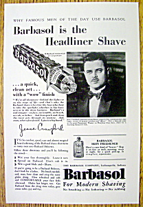 1930 Barbasol With Musician Jesse Crawford
