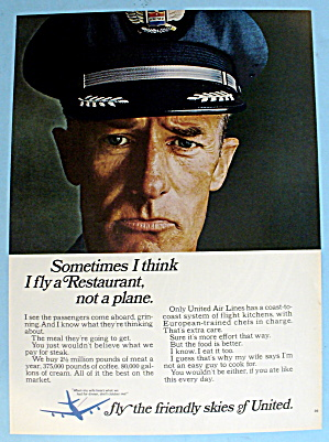 1966 United Airlines W/a United Airlines Pilot