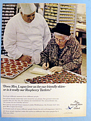 1968 United Air Lines W/ United Air Lines Chef