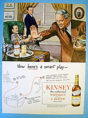 1945 Kinsey Whiskey With Men Talking Football