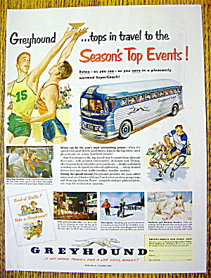 1951 Greyhound With Season's Top Events