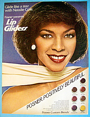 1980 Posner Lip Gliders With Singer Natalie Cole