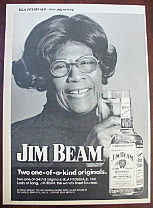 1974 Jim Beam With Ella Fitzgerald