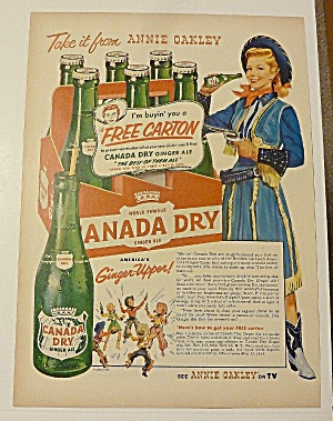 1954 Seven Up (7 Up) With Annie Oakley