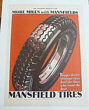 1929 Mansfield Tires With Tire