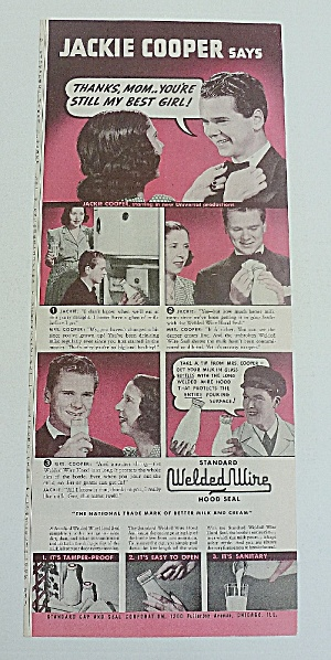 1939 Welded Wire With Jackie Cooper