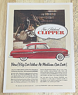 1953 Packard With The Clipper