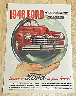 1946 Ford With The Super Deluxe In Bubble