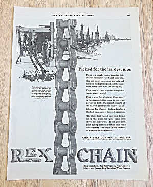 1923 Rex Chain With Rex Chabelco Chain