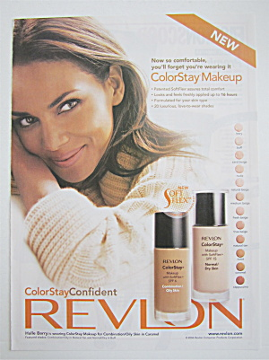 2006 Revlon Color Stay With Halle Berry