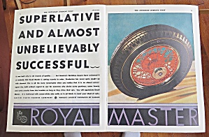 1930 Royal Master With Tire