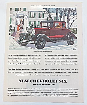 1931 Chevrolet Six With Sport Coupe