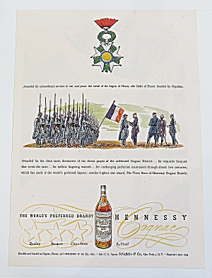 1946 Hennessy With Napoleon