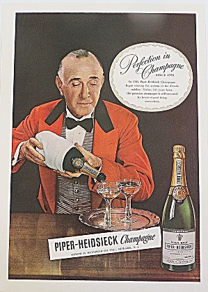 1946 Piper Heidsieck Champagne With Water